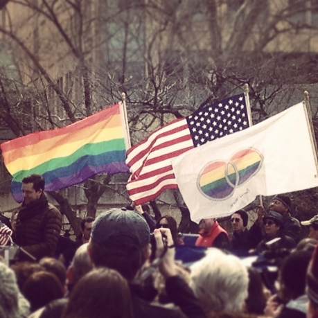 DOMA Project rally this weekend in NYC